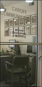 Caroff Communications Entrance