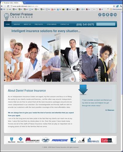 Fraisse Insurance Site