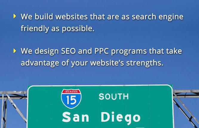 San Diego Websites 15 Freeway Sign