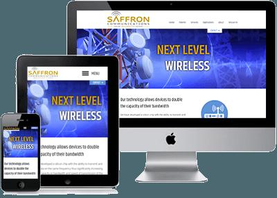 Saffron Communications screens