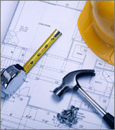 Tools on architectural plans
