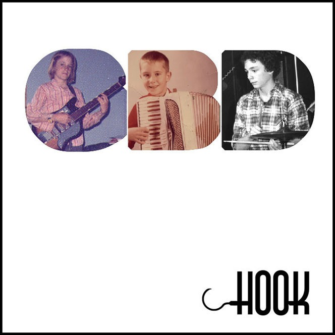 Front cover of Hook CD