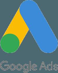 Google Ads logo, vertical