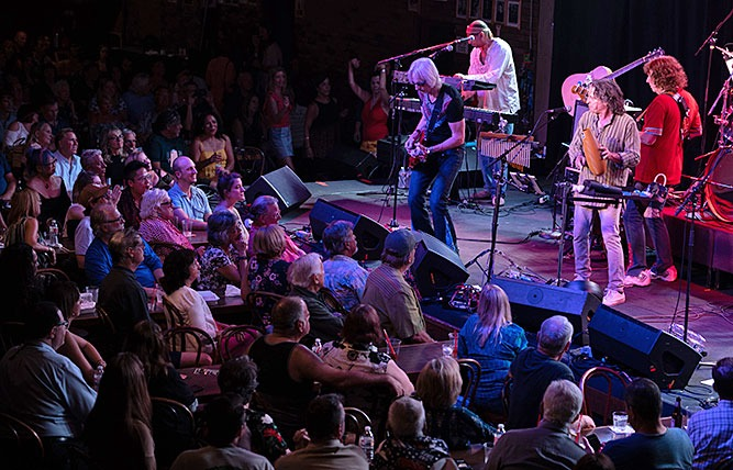 Santana tribute band Savor at the Coach House in Orange county