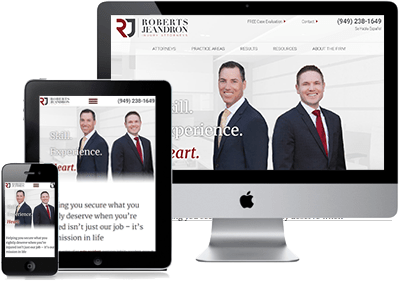 Roberts Jeandron Law Website