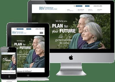 Robinson & Wilson site montage