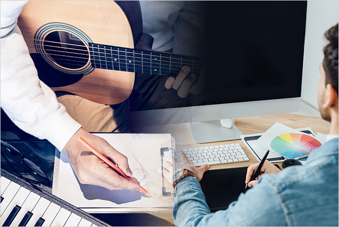 Songwriter and website designer mashup